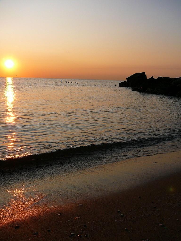 Private beach in South Shore/Photo: Alice Dan