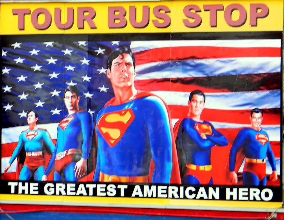 tour bus stop